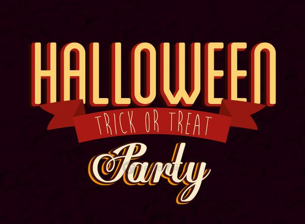 poster of party halloween celebration