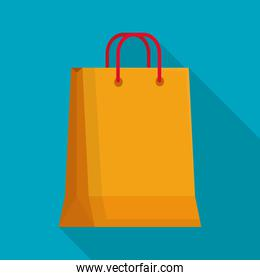 shopping bag icon, colorful design