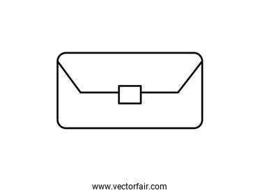 glasses case accessory isolated icon