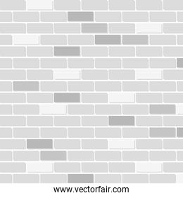 brick wall house isolated icon