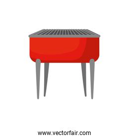 oven barbecue equipment isolated icon