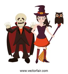 persons with costumes of characters