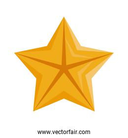 quality star commercial isolated icon
