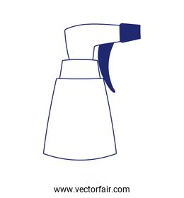 spray bottle cleaning product isolated icon white background