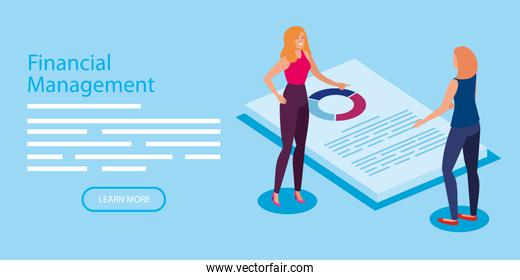 financial management with women and document