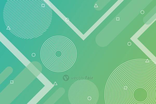 green vibrant colors background icon