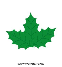 leafs nature ecology isolated icon