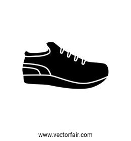Isolated sport shoe vector design
