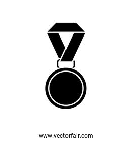 Isolated medal icon vector design