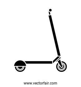 Isolated scooter icon vector design