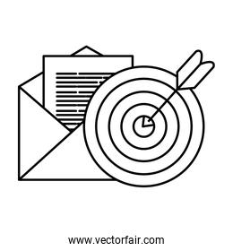 Isolated target and envelope vector design