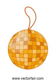 mirrors ball party hanging icon
