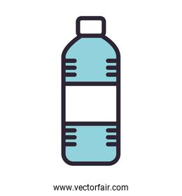 bottle water drink isolated icon