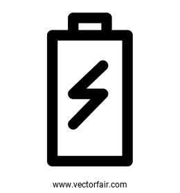 battery power user interface isolated icon