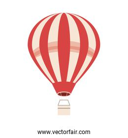 balloon air hot travel isolated icon
