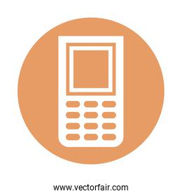 cellphone device technology isolated icon
