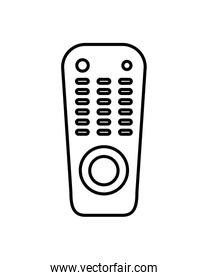 tv control device isolated icon
