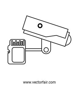 cctv video camera with sd card