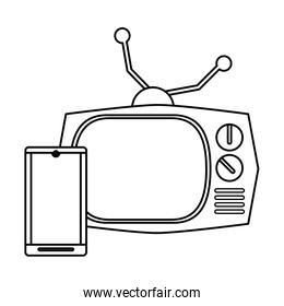 television appliance with smartphone devices
