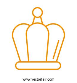 crown winner royal isolated icon