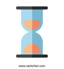 hourglass time counter isolated icon