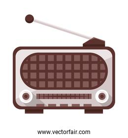 radio old device isolated icon