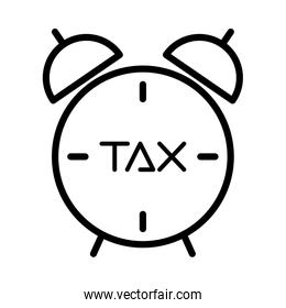 tax obligation with alarm clock