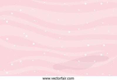 pink waves dots decoration texture background