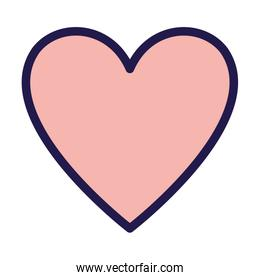 happy valentines day pink heart love passion