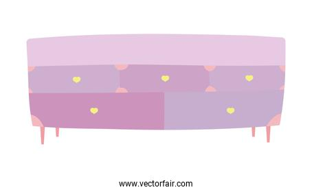 wooden drawers furniture hearts handles decoration