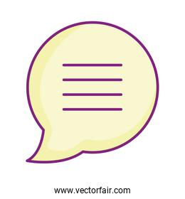 speech bubble chat message sms icon