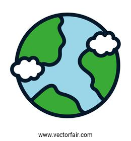 world save conservation ecology environment icon