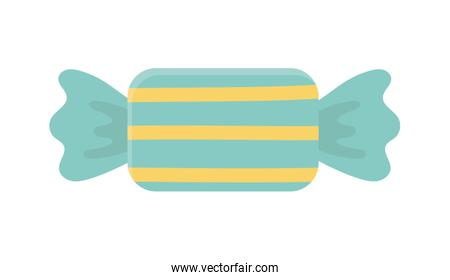 sweet wrapped candy confectionery icon