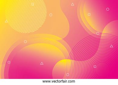 orange and pink vibrant colors background