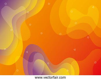 orange and purple vibrant colors background