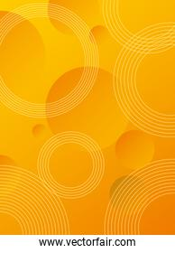 orange vibrant colors background icon