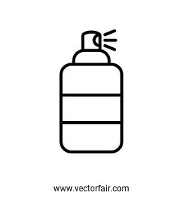 antibacterial spray can icon