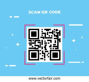 classic scan qr code icon