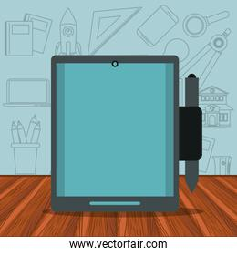 tablet technology device isolated icon