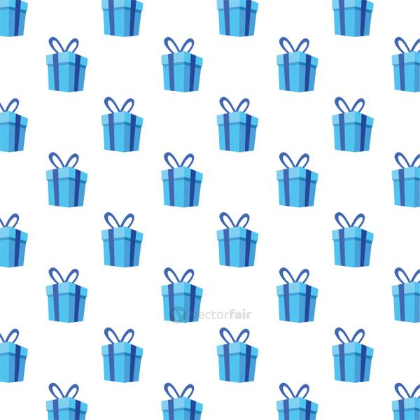 gifts boxes presents pattern background
