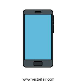 smartphone technology icon isolated