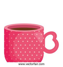 cup coffee delicious isolated icon