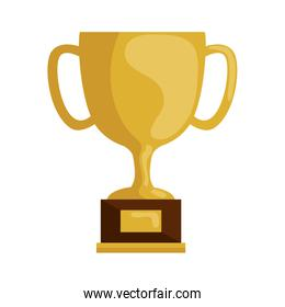 cup trophy award isolated icon