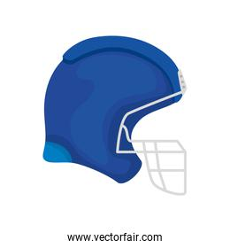 american football helmet isolated icon