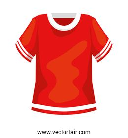 american football shirt isolated icon