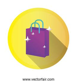 shopping bag detailed style icon