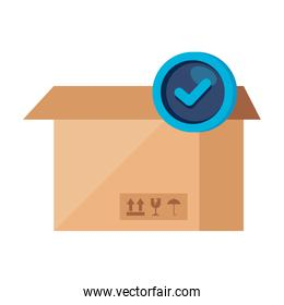box package cargo isolated icon
