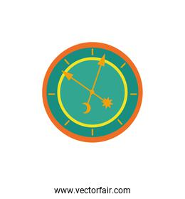 time watch fairytale object isolated icon