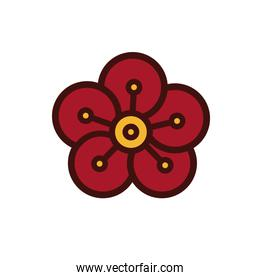 chinesse flower decoration new year
