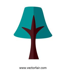 pine tree plant forest flat style icon